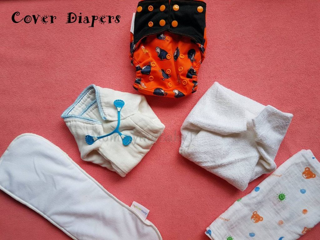 Cloth Diapers 101 - Types | Mommying BabyT