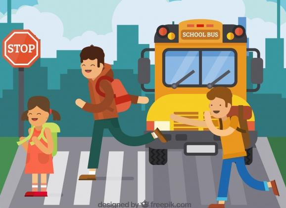 children-and-school-bus-with-flat-design_23-2147654740