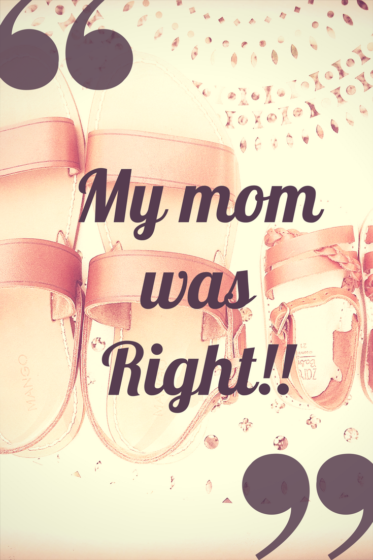 mom was right, blog train, blogging challenge