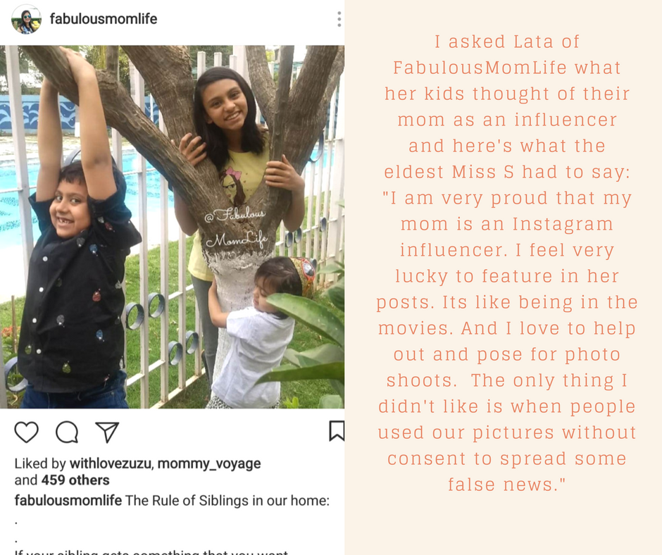 Mom bloggers or mom influencers are a new but growing breed. They live their lives fabulously on social media and are making mommying cool. But what are they like in real life? What do their families think of this celeb like status? Do brands really value mom influencers? #momblogger #influencer #instagrammom #instamoms #bossbabe #momboss #momlife #mommylife #mommyblogger, flatlay, instagram bio, instagram mom, instamom, influencer mom