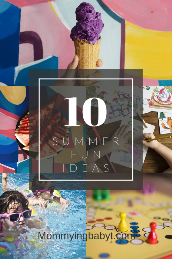 summer activities for kids, keeping kids busy in summer holidays, ,summer holidays, school holidays, school vacations, summer fun, board games, water play, colouring, painting, art and craft