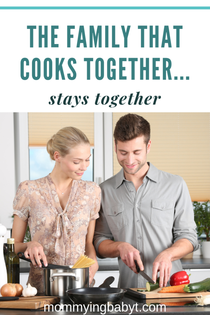 More and more families are choosing to cook at home.