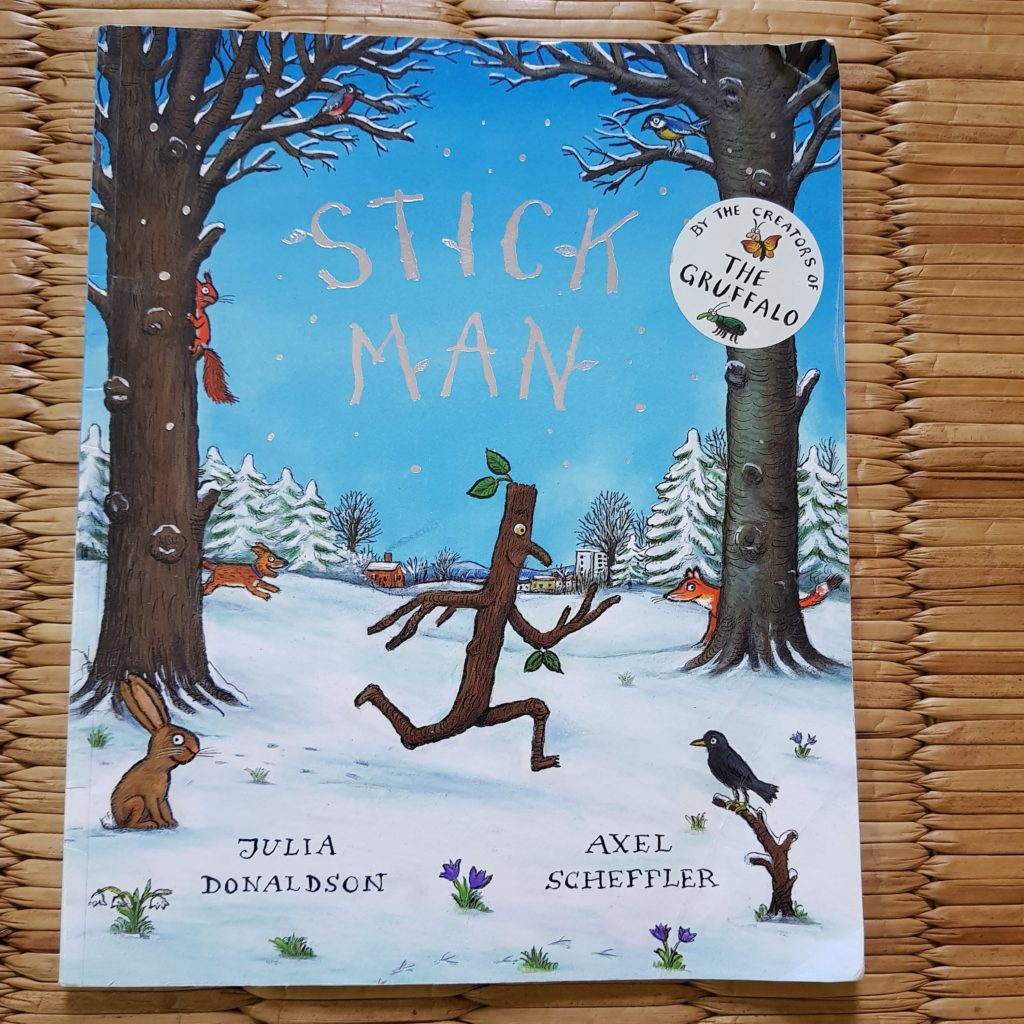 stick man by julia donaldson, books for kids, childrens books, favourite books for kids, books for toddlers, favorite books for 2 year olds, books for 3 year olds, books for preschoolers, books to teach kids, gruffalo, julia donaldson, herve tullet, press here book, wow said the owl, karadi tales, book reviews, kids book reviews, books we love, bookstagram, books for baby, best books for kids, best books for 2 year olds, best books for 3 year olds, babyT's books, raising a reader, reading project, love for reading