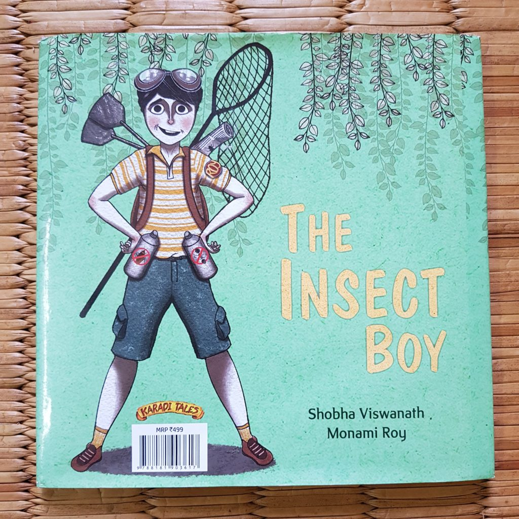 the insect boy by karadi tales, books for kids, childrens books, favourite books for kids, books for toddlers, favorite books for 2 year olds, books for 3 year olds, books for preschoolers, books to teach kids, gruffalo, julia donaldson, herve tullet, press here book, wow said the owl, karadi tales, book reviews, kids book reviews, books we love, bookstagram, books for baby, best books for kids, best books for 2 year olds, best books for 3 year olds, babyT's books, raising a reader, reading project, love for reading