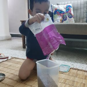 Chores and children. These two words seem to go together. But an often asked question is when is the right time to start? And how? This blog post attempts to guide toddler parents with introducing chores to their kids and helping them grow to develop a natural liking for it. #chores #toddlerchores #choresforkids #childrenchores #independentkids